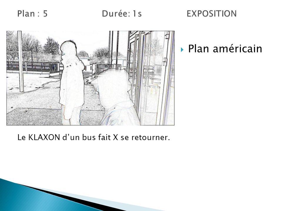Plan : 5 Durée: 1s EXPOSITION