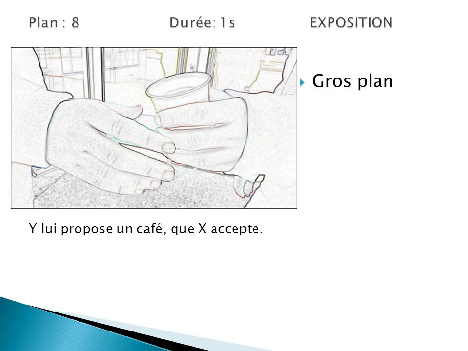 Plan : 8 Durée: 1s EXPOSITION
