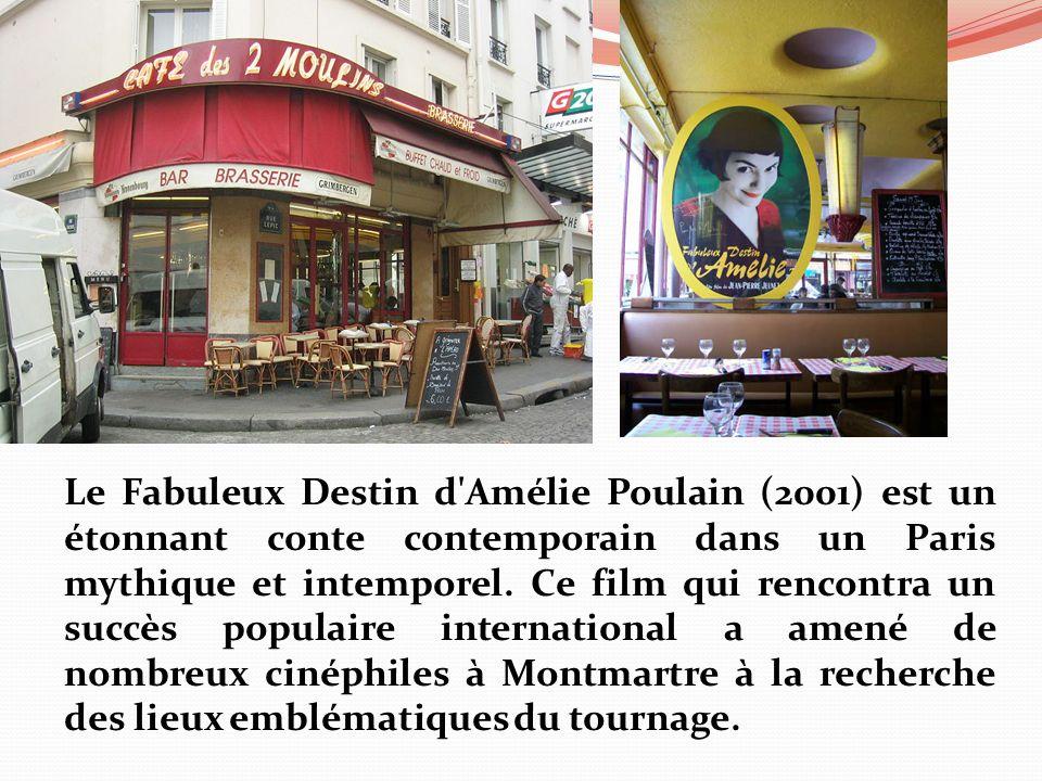 Le Fabuleux Destin d Amélie Poulain (2001) est un étonnant conte contemporain dans un Paris mythique et intemporel.