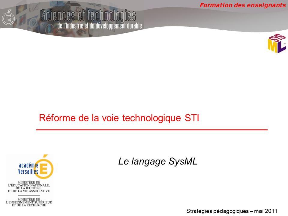 Réforme de la voie technologique STI