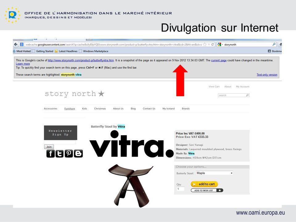 Divulgation sur Internet