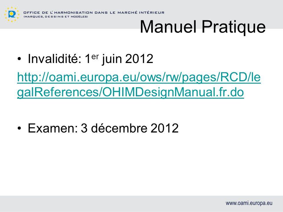 Manuel Pratique Invalidité: 1er juin 2012