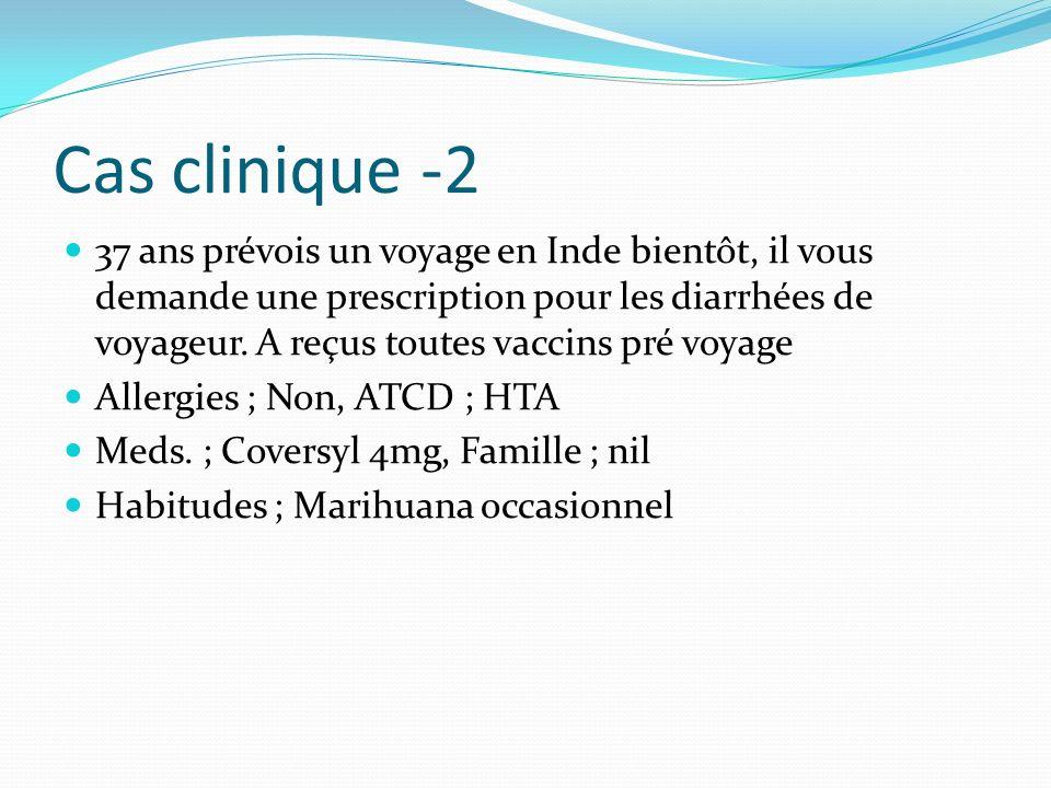 Cas clinique -2