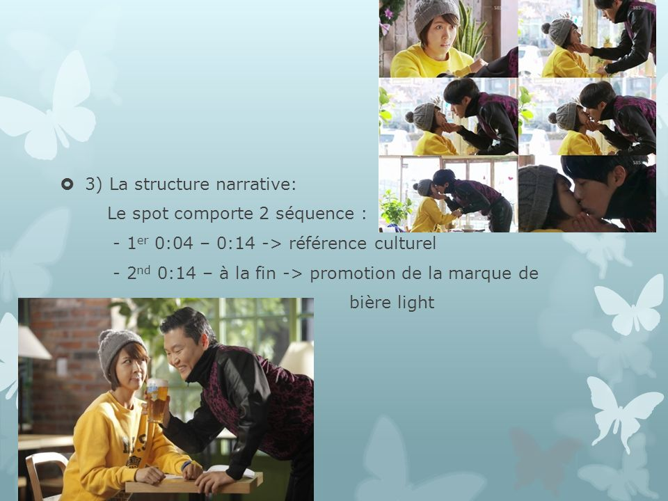 3) La structure narrative: