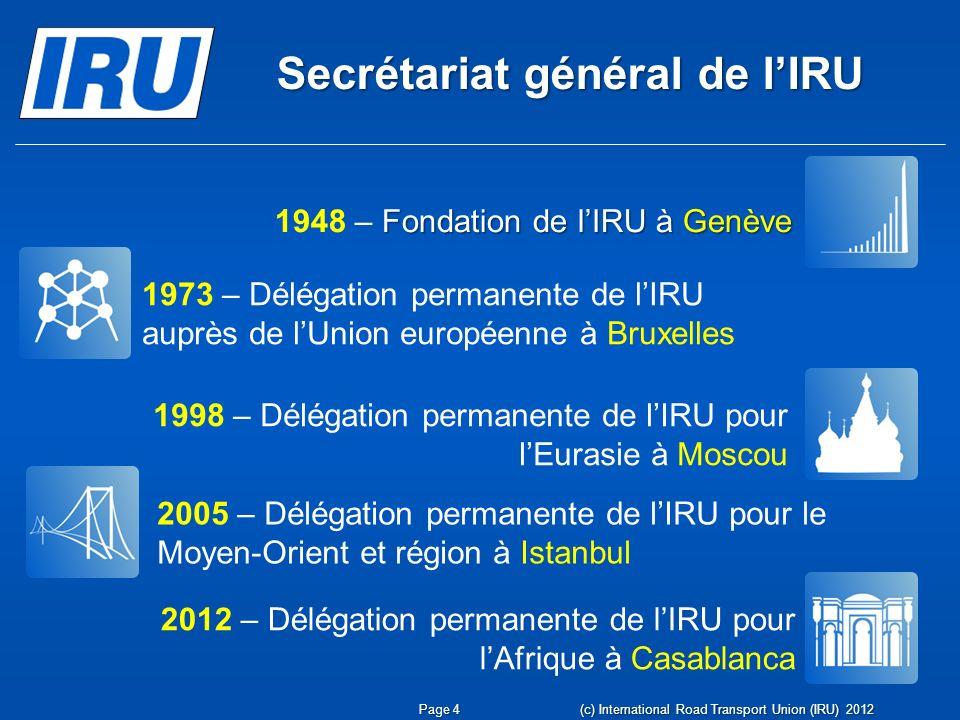 Secrétariat général de l'IRU