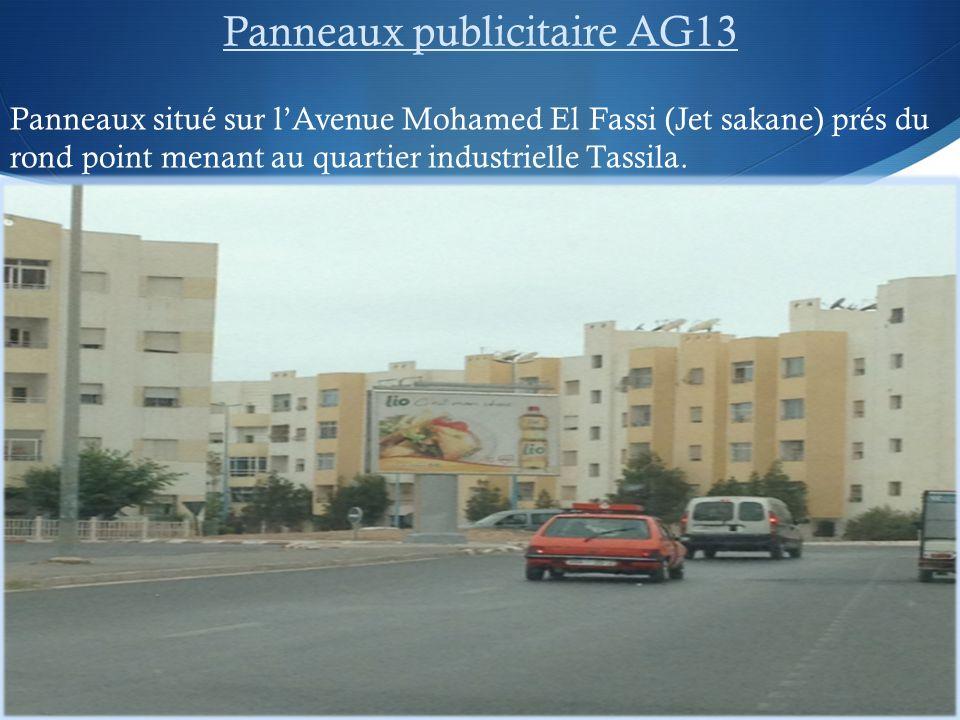 Panneaux publicitaire AG13