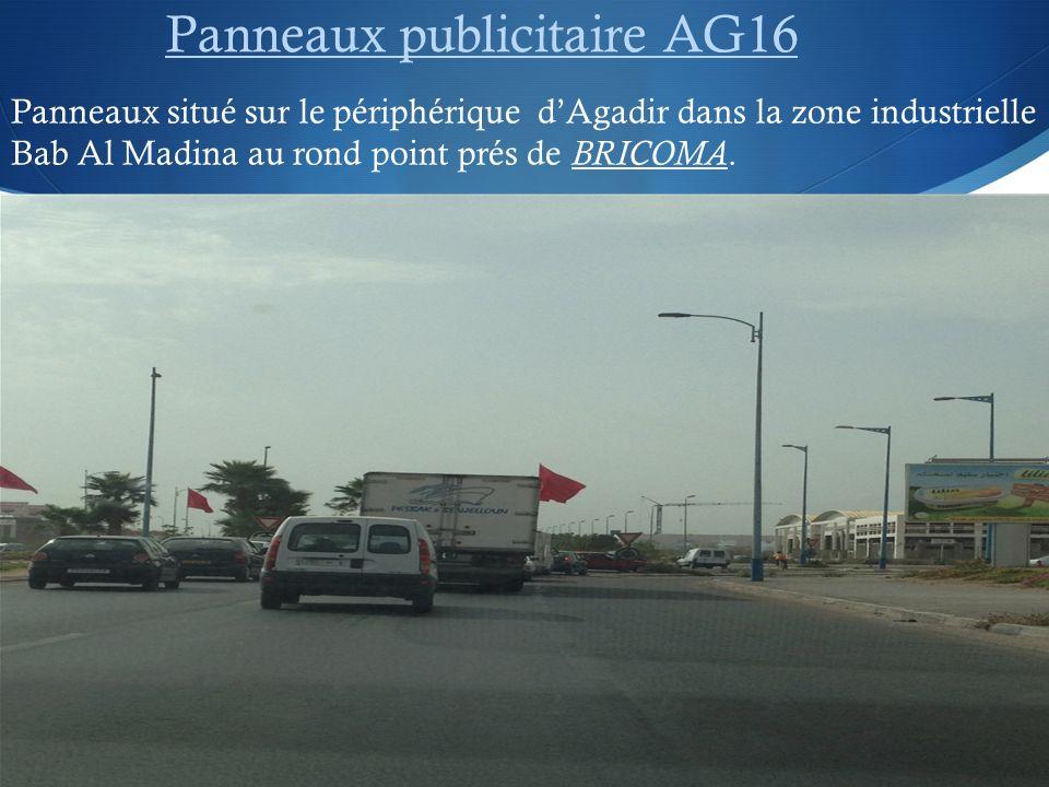 Panneaux publicitaire AG16