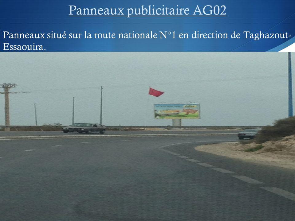 Panneaux publicitaire AG02