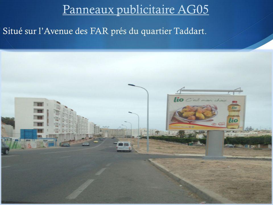 Panneaux publicitaire AG05
