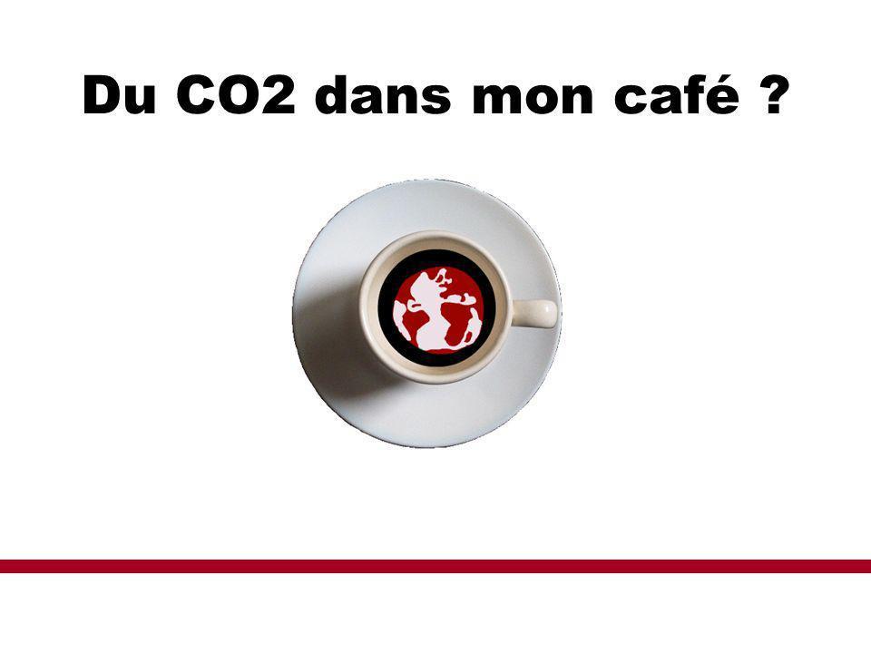 Du CO2 dans mon café