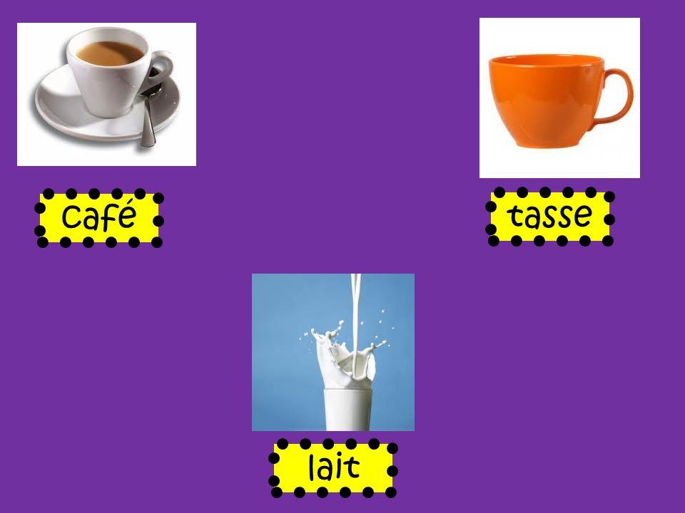 café tasse lait