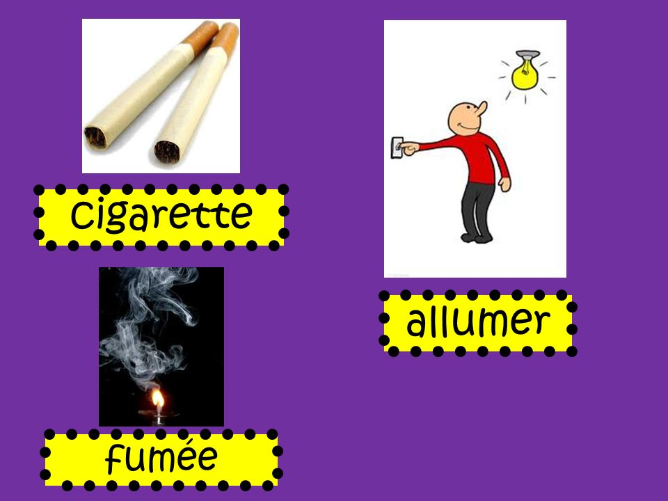 cigarette allumer fumée