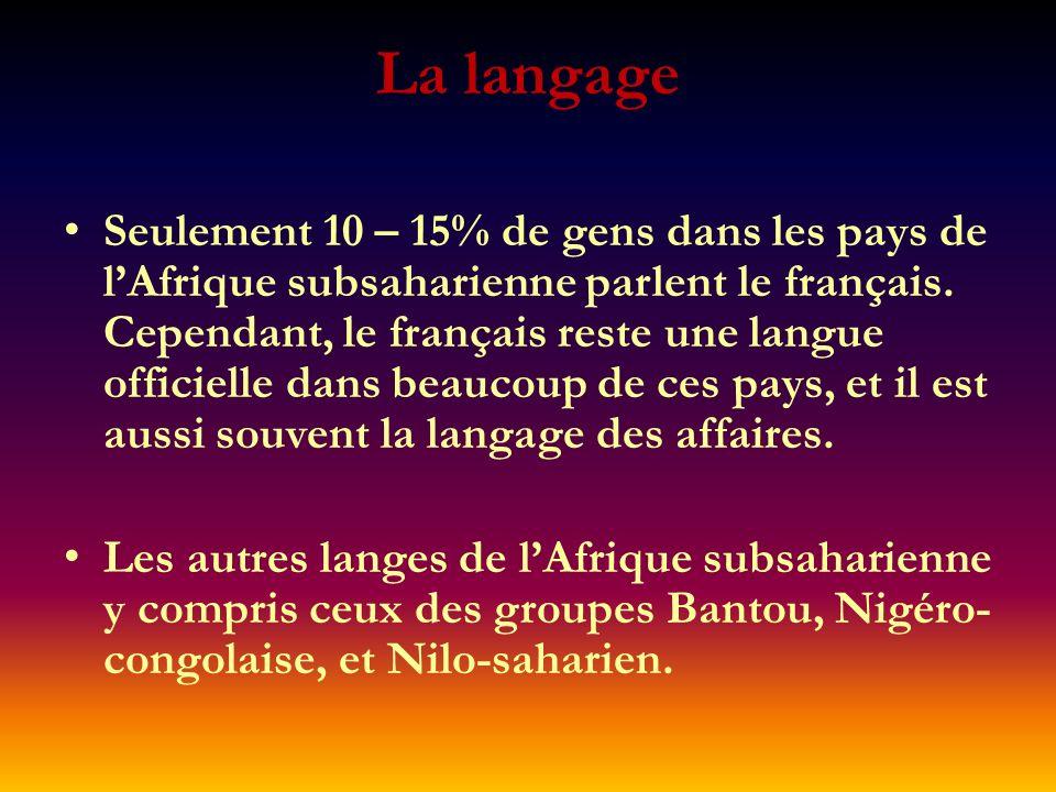 La langage