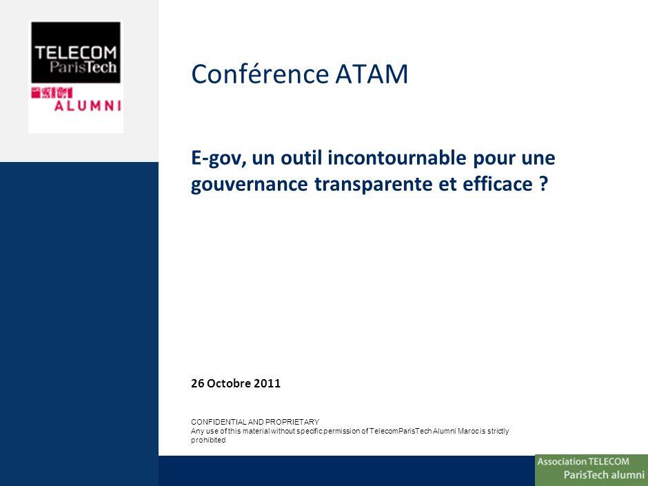 Sommaire 1 Qui somme nous 2 Conférence e-gov: contextes et enjeux 3