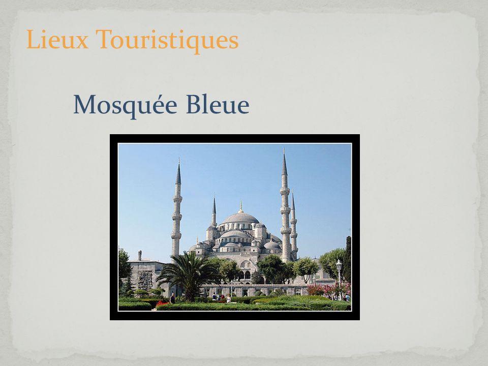 Lieux Touristiques Mosquée Bleue