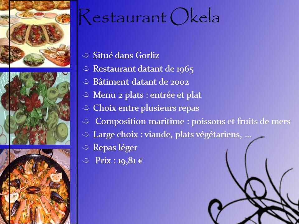 Restaurant Okela Situé dans Gorliz Restaurant datant de 1965