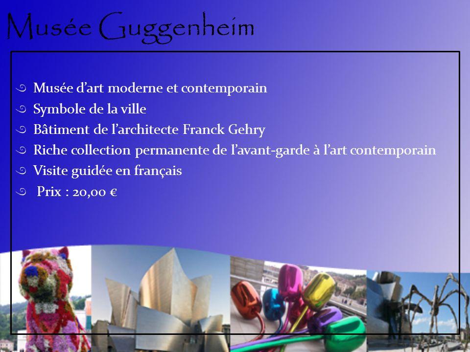Musée Guggenheim Musée d'art moderne et contemporain
