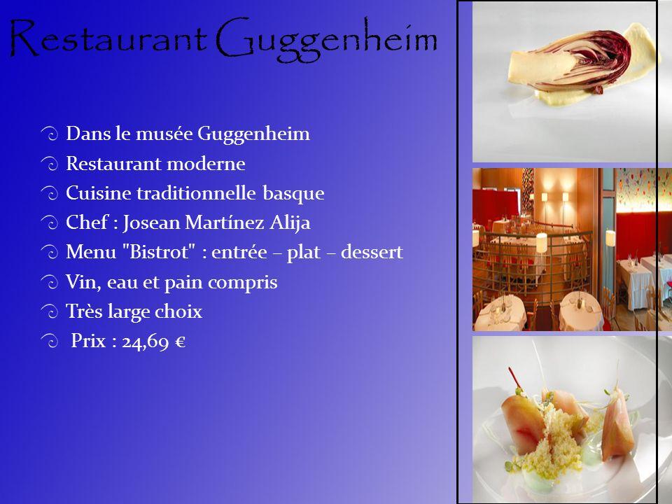Restaurant Guggenheim