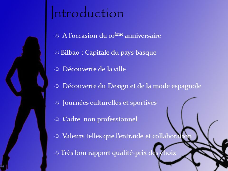 Introduction A l'occasion du 10ème anniversaire