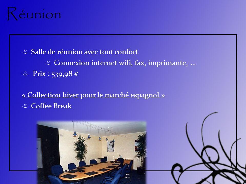 Réunion Salle de réunion avec tout confort