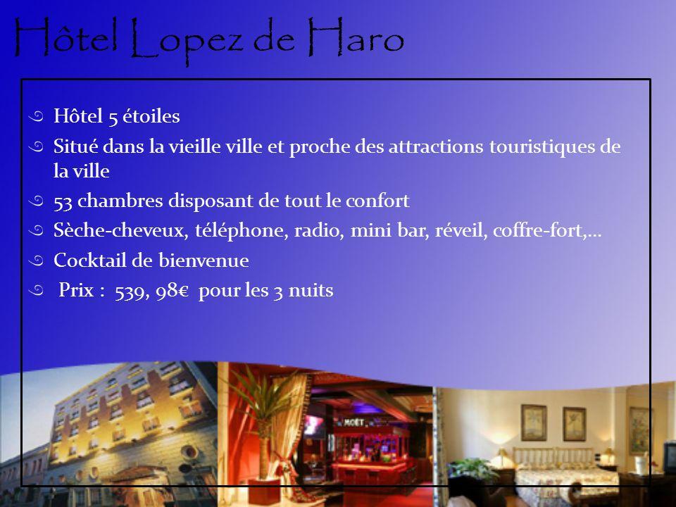 Hôtel Lopez de Haro Hôtel 5 étoiles