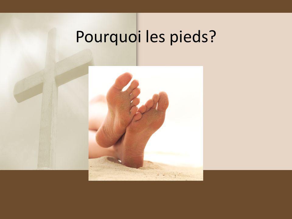 Pourquoi les pieds
