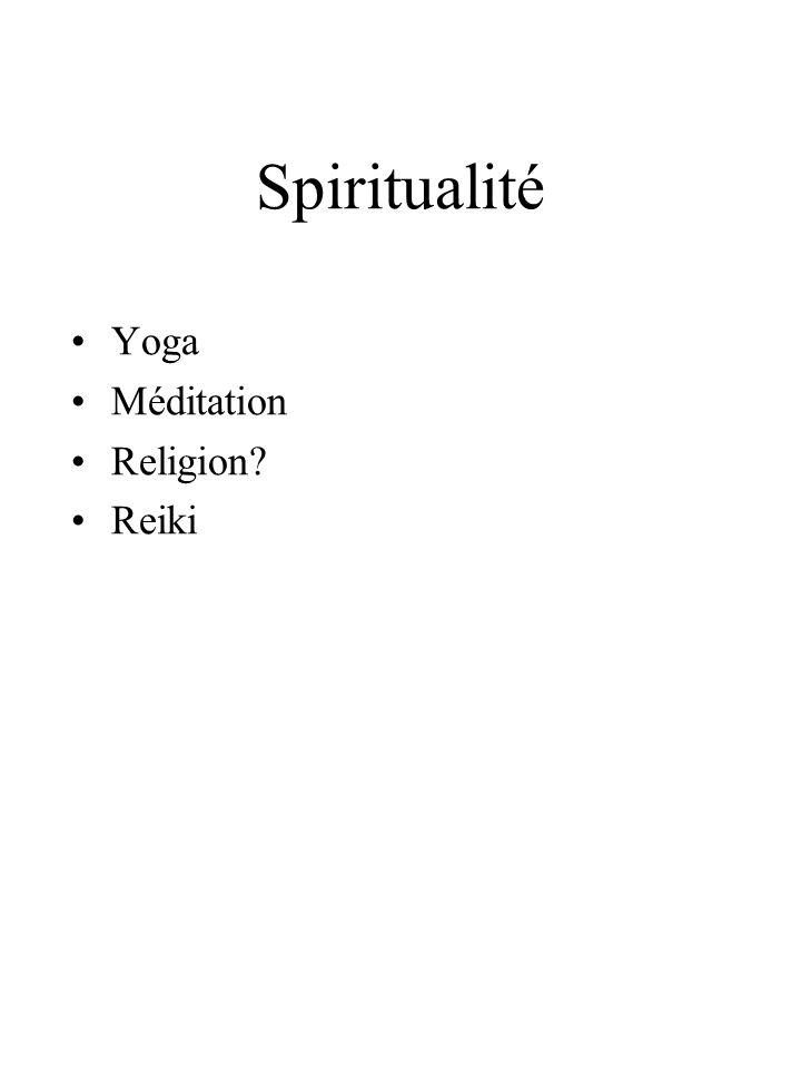 Spiritualité Yoga Méditation Religion Reiki