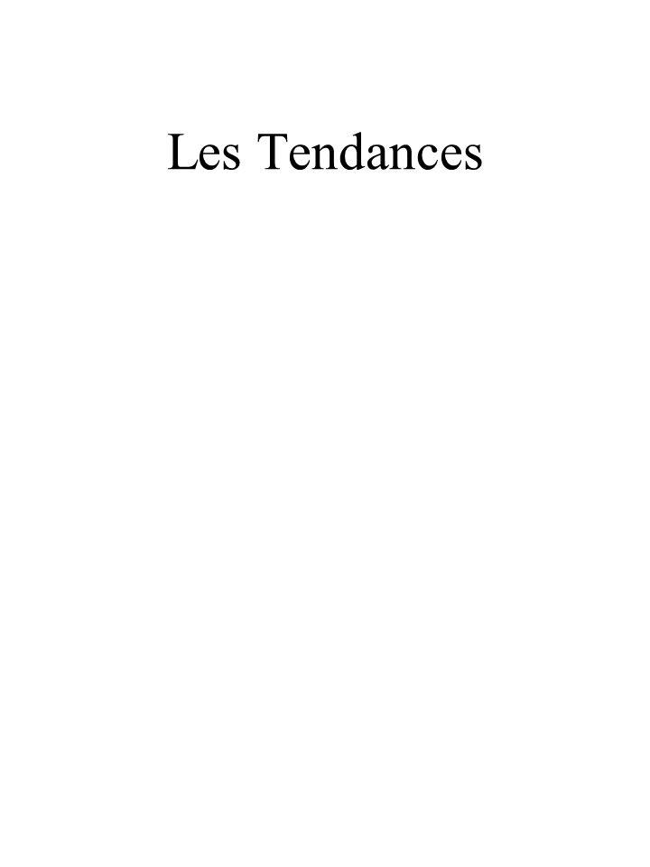 Les Tendances