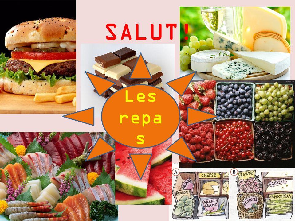 SALUT! Les repas