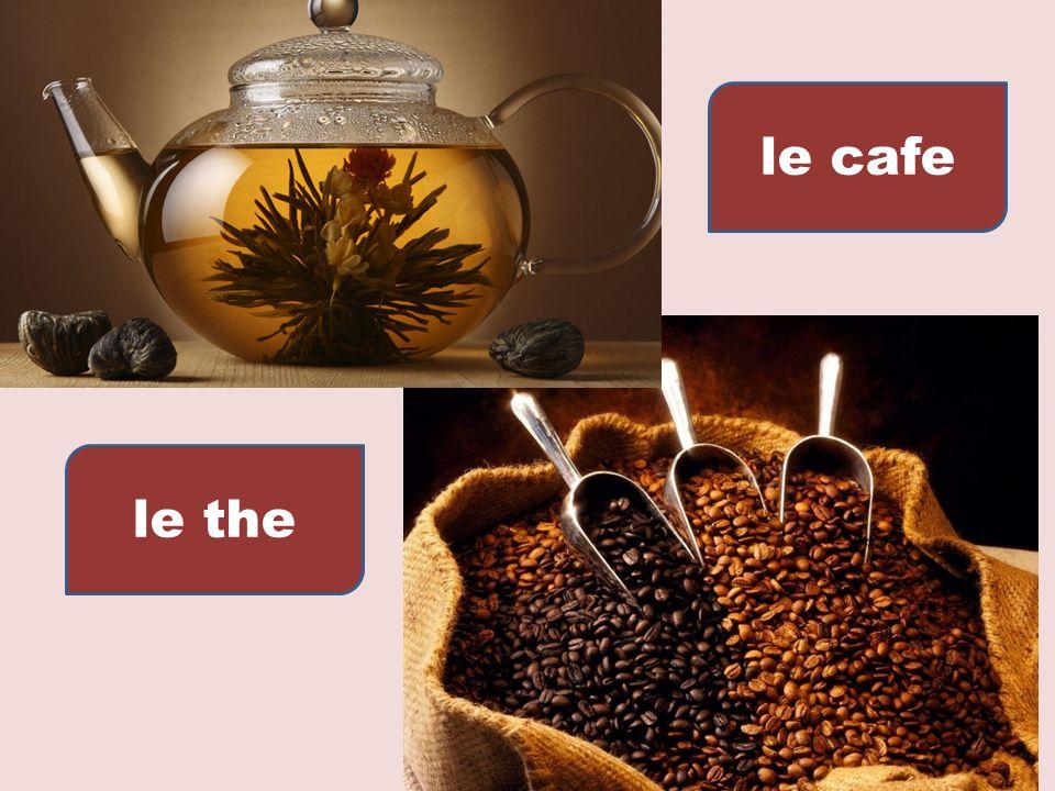 le cafe le the