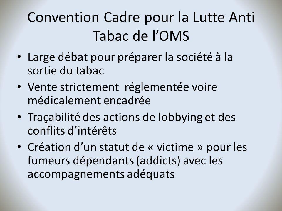 Convention Cadre pour la Lutte Anti Tabac de l'OMS