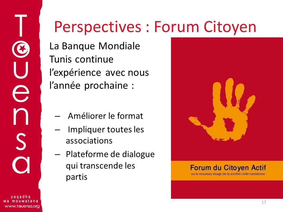 Perspectives : Forum Citoyen