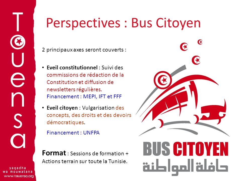 Perspectives : Bus Citoyen