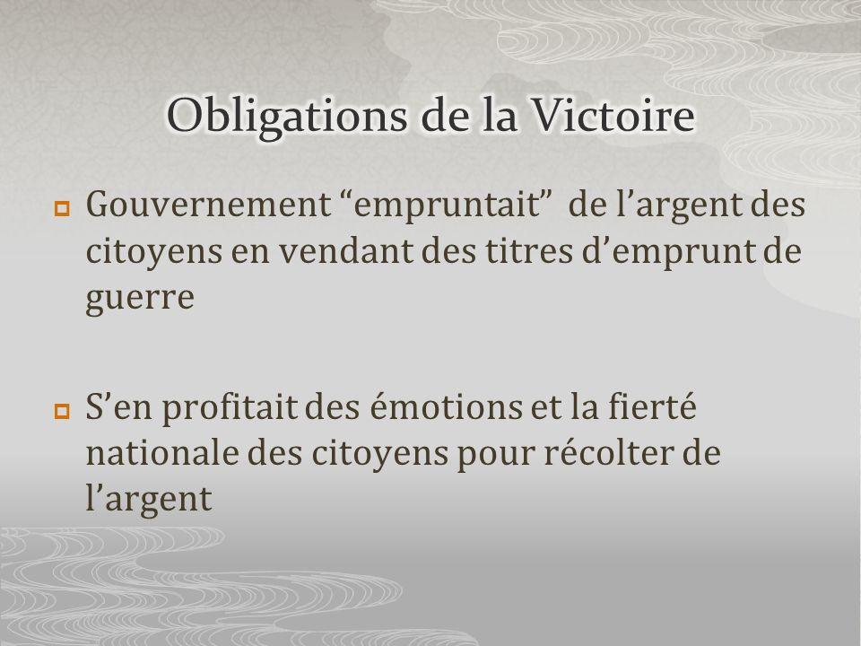 Obligations de la Victoire