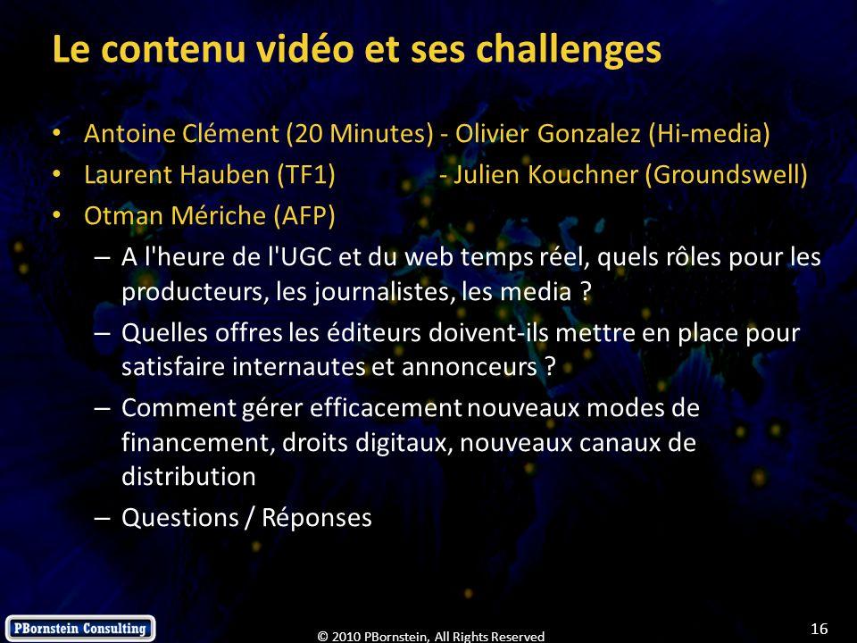 Le contenu vidéo et ses challenges