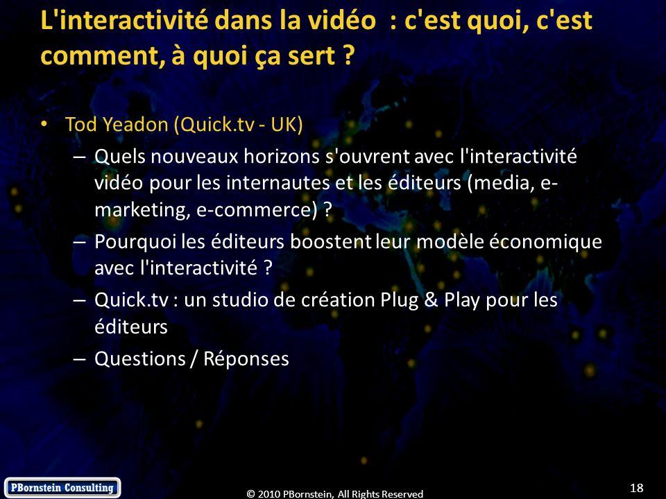 L interactivité dans la vidéo : c est quoi, c est comment, à quoi ça sert