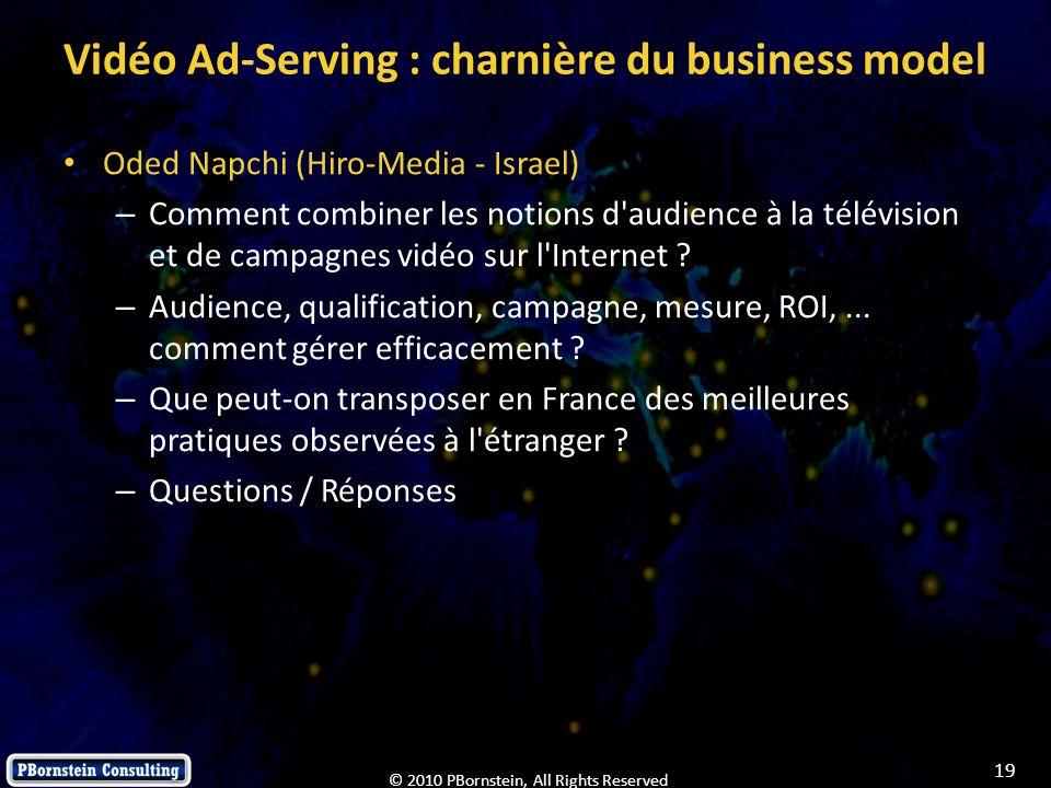 Vidéo Ad-Serving : charnière du business model