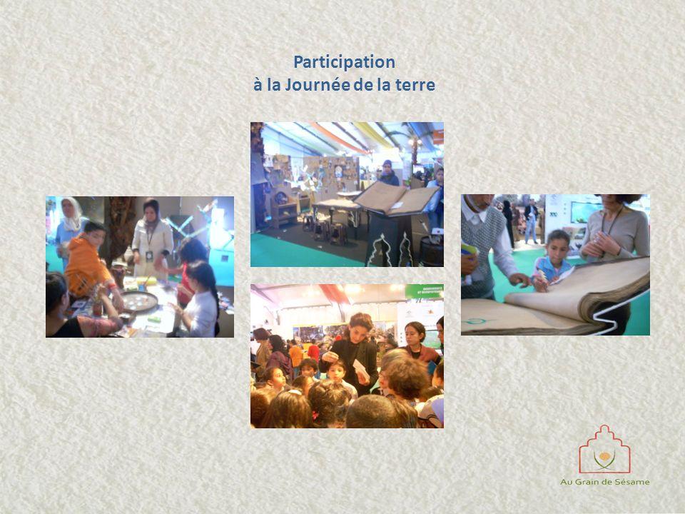 Participation à la Journée de la terre