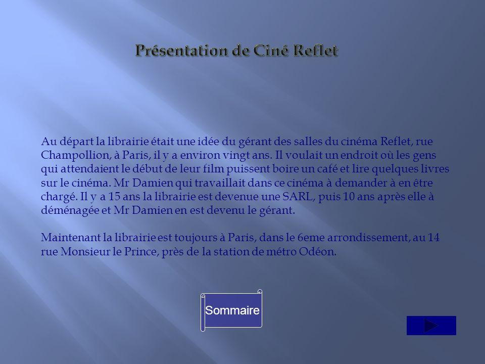 Présentation de Ciné Reflet
