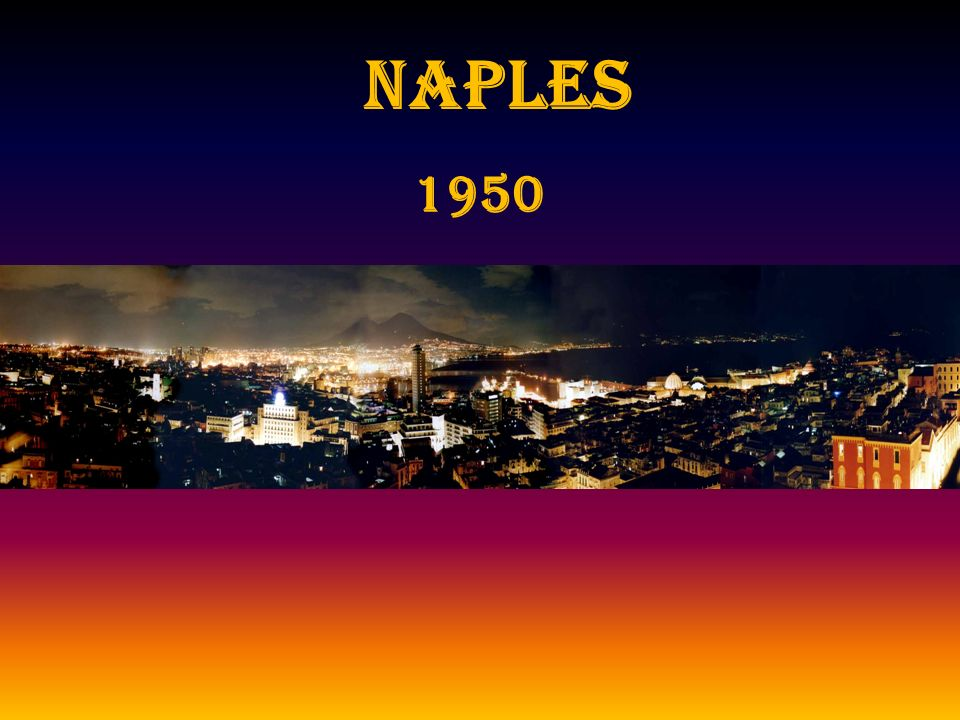 NAPLES 1950
