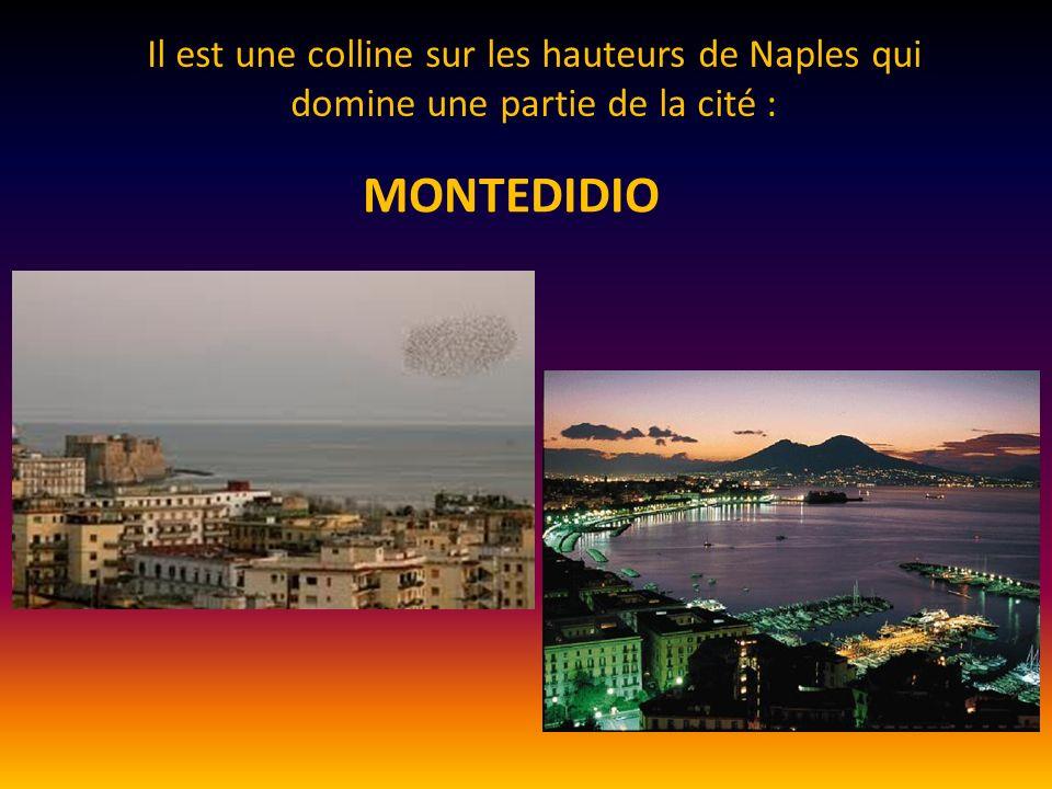 Il est une colline sur les hauteurs de Naples qui domine une partie de la cité :