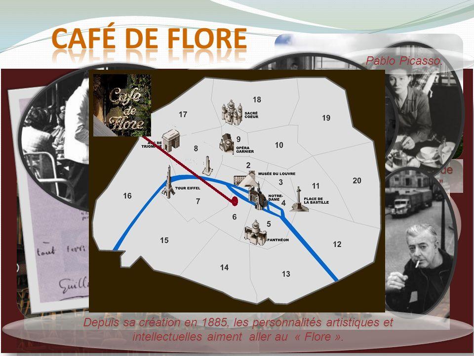café de Flore Pablo Picasso.