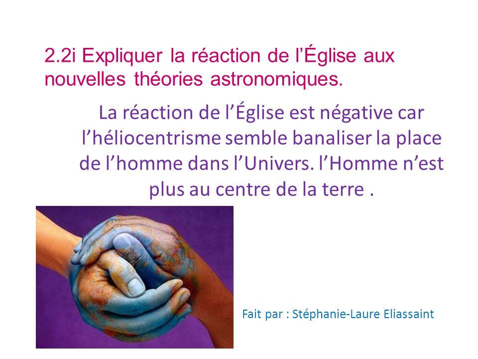 Fait par : Stéphanie-Laure Eliassaint