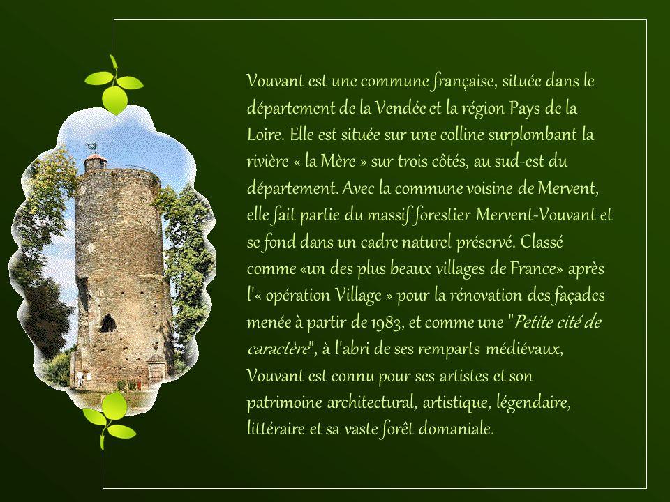 Vouvant est une commune française, située dans le département de la Vendée et la région Pays de la Loire.