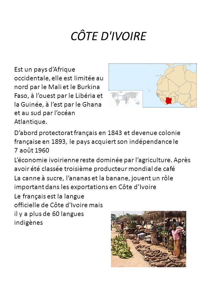 CÔTE D IVOIRE