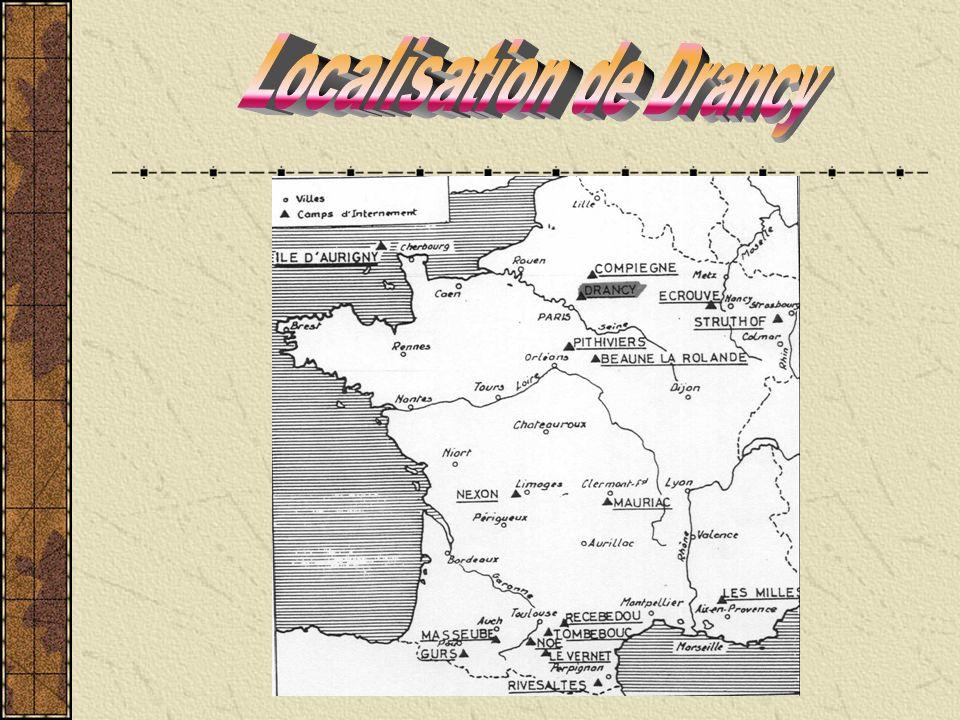 Localisation de Drancy