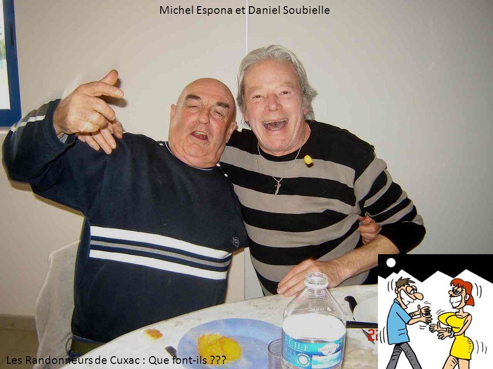 Michel Espona et Daniel Soubielle