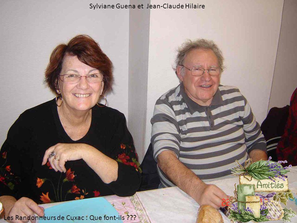 Sylviane Guena et Jean-Claude Hilaire