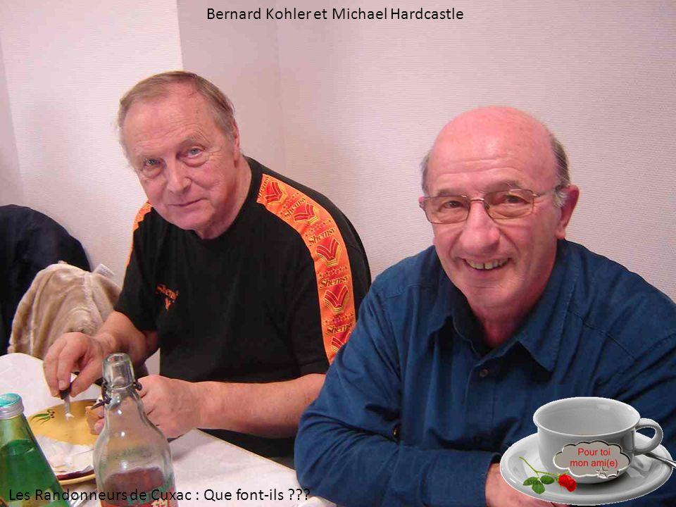 Bernard Kohler et Michael Hardcastle