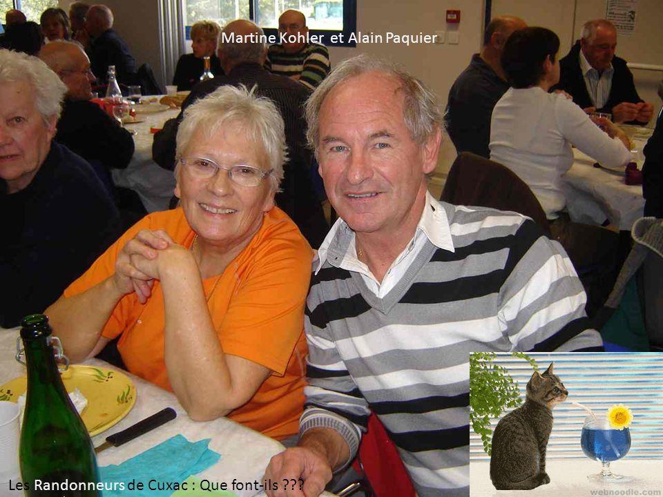 Martine Kohler et Alain Paquier